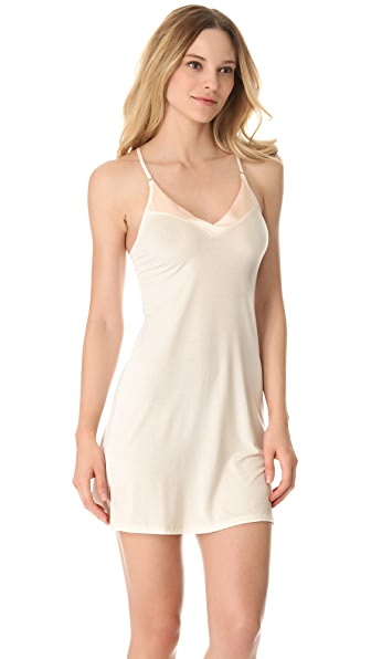 Calvin Klein Underwear Essentials with Satin V Neck Chemise