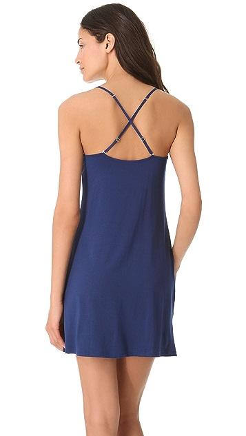 Calvin Klein Underwear Essentials Satin V Neck Chemise