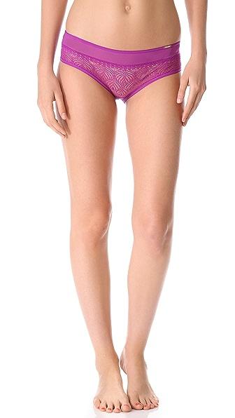 Calvin Klein Underwear Jewel Hipster Briefs