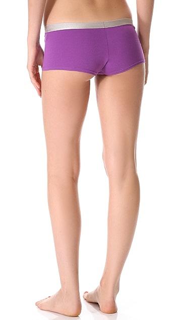 Calvin Klein Underwear Metallic Chrome Boy Shorts