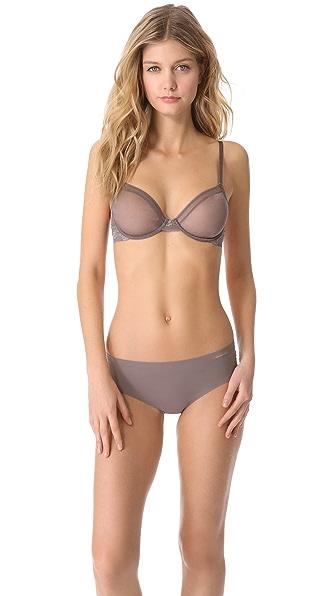 Calvin Klein Underwear Luster Unlined Underwire Bra