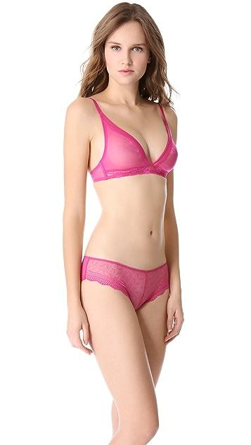 Calvin Klein Underwear Luster Triangle Bra