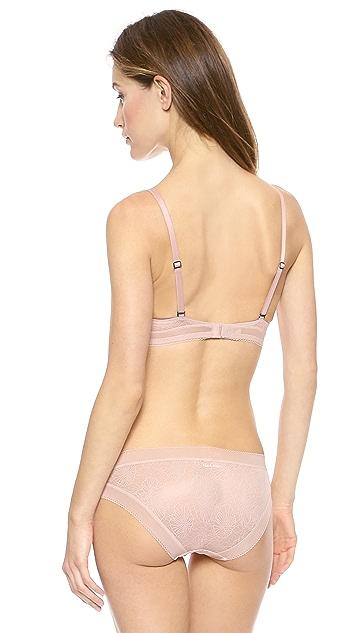 Calvin Klein Underwear Launch Lace Push Up Bra
