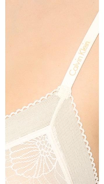 Calvin Klein Underwear Launch Lace Underwire Bra
