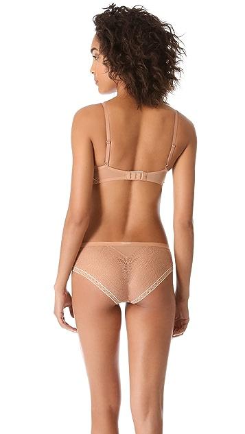 Calvin Klein Underwear Push Positive Delicate Lace Bandeau Bra
