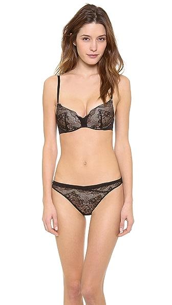 Calvin Klein Underwear Serene Push Positive Bra
