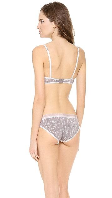 Calvin Klein Underwear Perfectly Fit Sexy Signature Balconette Bra