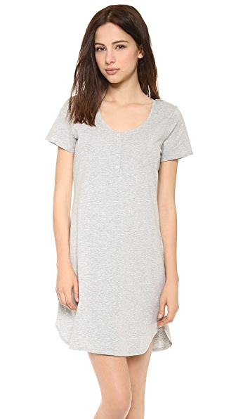 Calvin Klein Underwear Cotton Short Sleeve Nightshirt