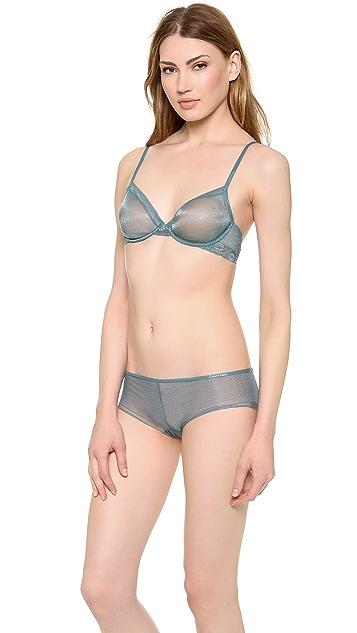 Calvin Klein Underwear Luster Bare Underwire Bra