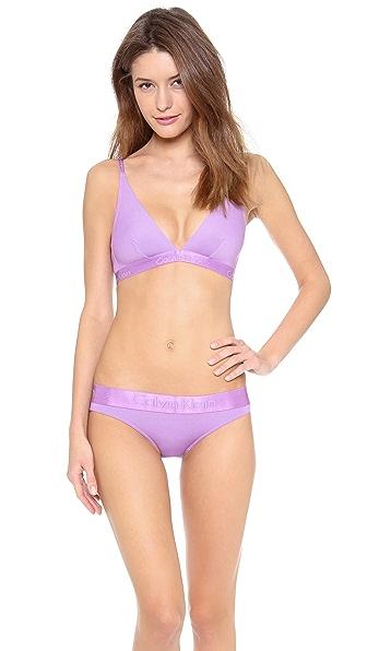 Calvin Klein Underwear Dula Tone Convertible Triangle Bra