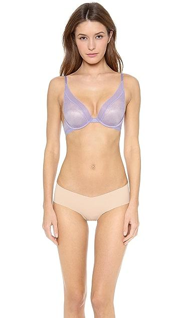 Calvin Klein Underwear Icon Lace Provocative Plunge Bra