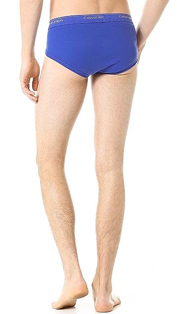 Calvin Klein Underwear 3 Pack Low Rise Briefs