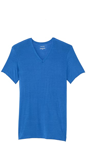 Calvin Klein Underwear Body Modal Short Sleeve V Neck T-Shirt