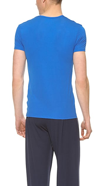 Calvin Klein Underwear Body Modal Short Sleeve V Neck T-Shirt