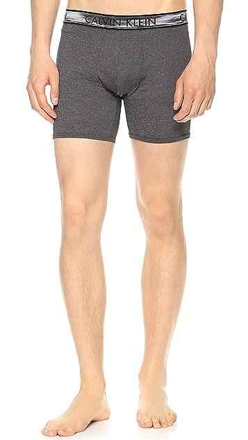 Calvin Klein Underwear Micro Heather Boxer Briefs