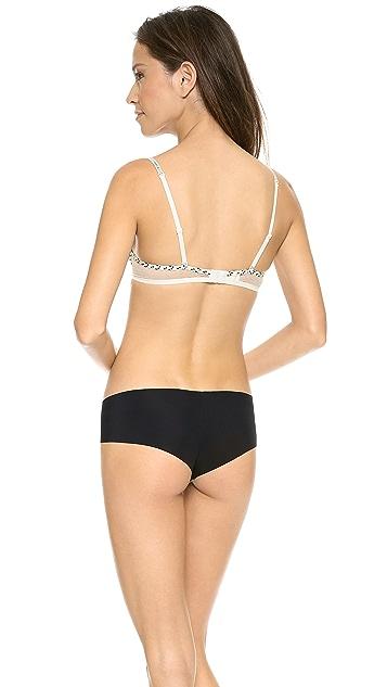 Calvin Klein Underwear Fashion Microfiber Convertible Push Up Bra