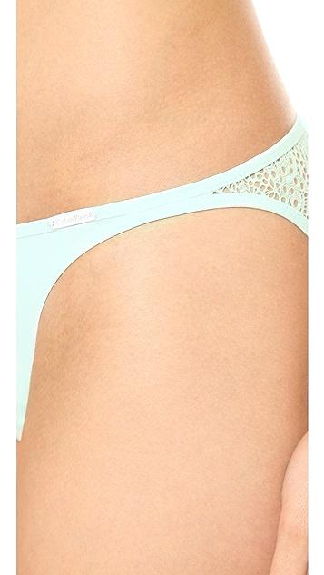 Calvin Klein Underwear Crochet Lace Bikini Briefs