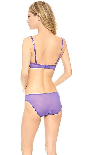 Calvin Klein Underwear Seductive Comfort Illusion Customized Lift Bra