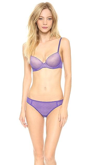Calvin Klein Underwear Seductive Comfort Illusion Bikini Briefs