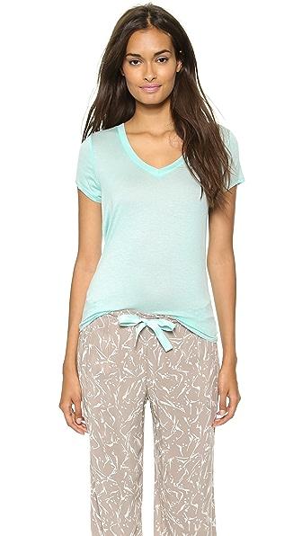 Calvin Klein Underwear Layering Cap Sleeve Tee