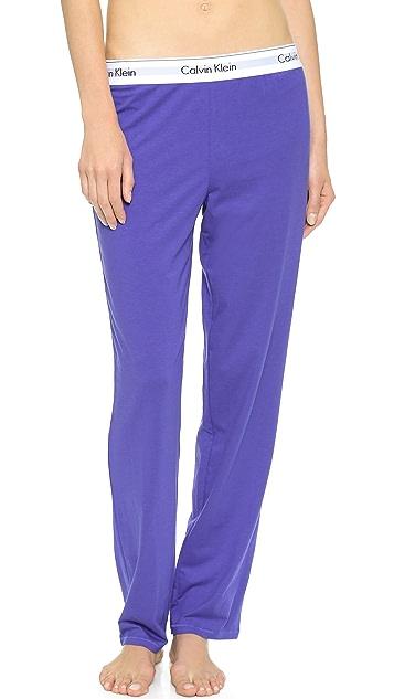Calvin Klein Underwear Modern Cotton Straight Leg Pajama Pants