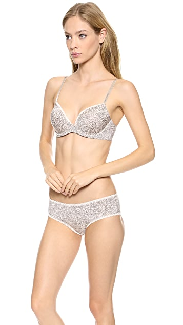 Calvin Klein Underwear Seductive Comfort Customized Lift Bra
