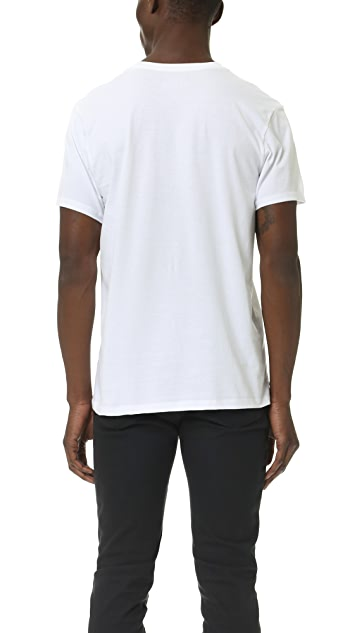 Calvin Klein Underwear 3 Pack Cotton Classic Crew Neck T-Shirts