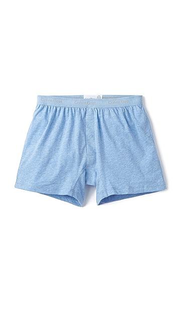 Calvin Klein Underwear Knit Slim Fit Boxers