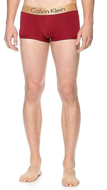 Calvin Klein Underwear Zinc Low Rise Trunks