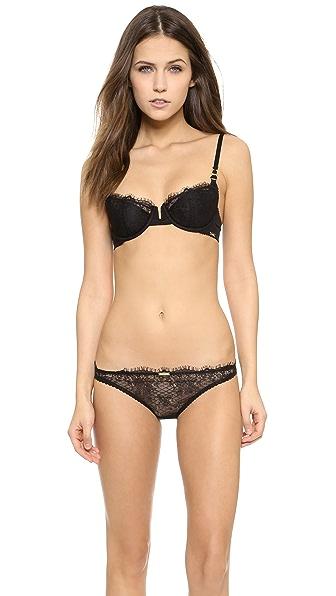 Calvin Klein Underwear Eyelash Chantilly Balconette Bra