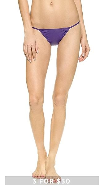 Calvin Klein Underwear Sleek Bikini Briefs