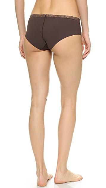 Calvin Klein Underwear Invisible Hipster with Lace