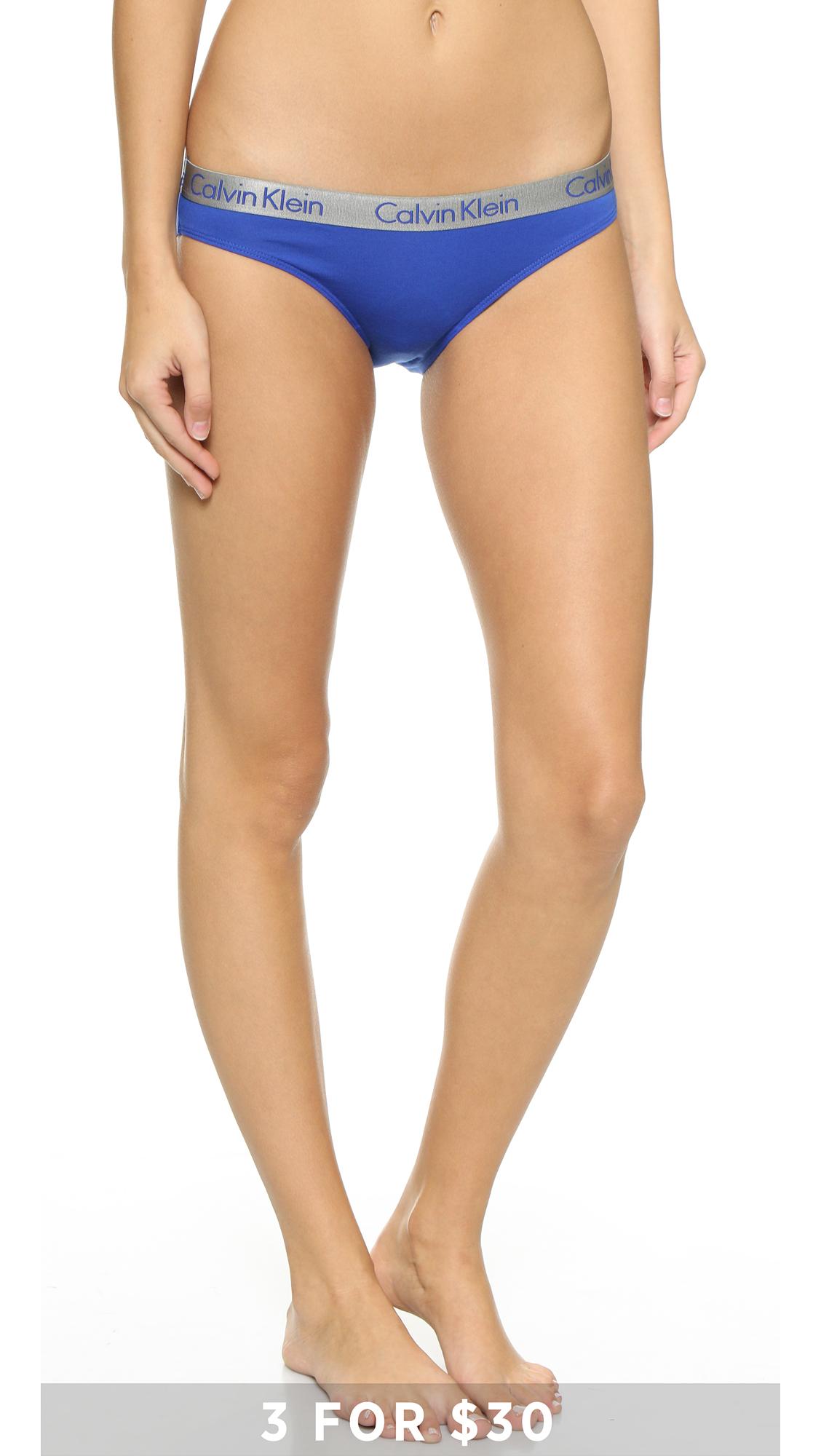 8064d37166ea Calvin Klein Underwear Radiant Cotton Bikini Panties | SHOPBOP