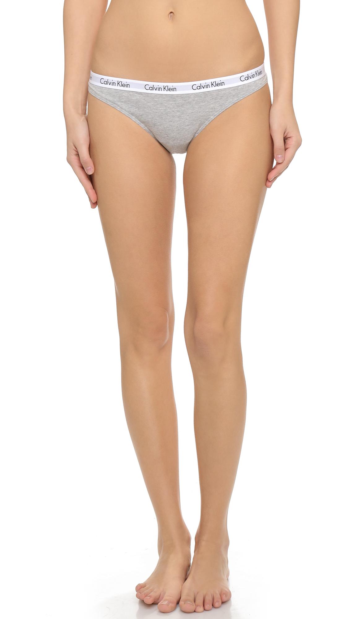 8edf8c4812 Calvin Klein Underwear Carousel Thong 3 Pack