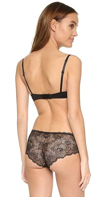 Calvin Klein Underwear Black Space Sling Balconette Bra