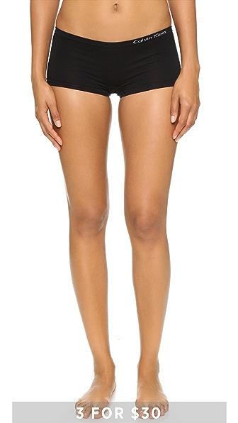 Calvin Klein Underwear Бесшовные трусы-шорты Pure