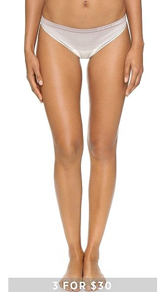 Calvin Klein Underwear Бесшовные трусики-танга Illusions
