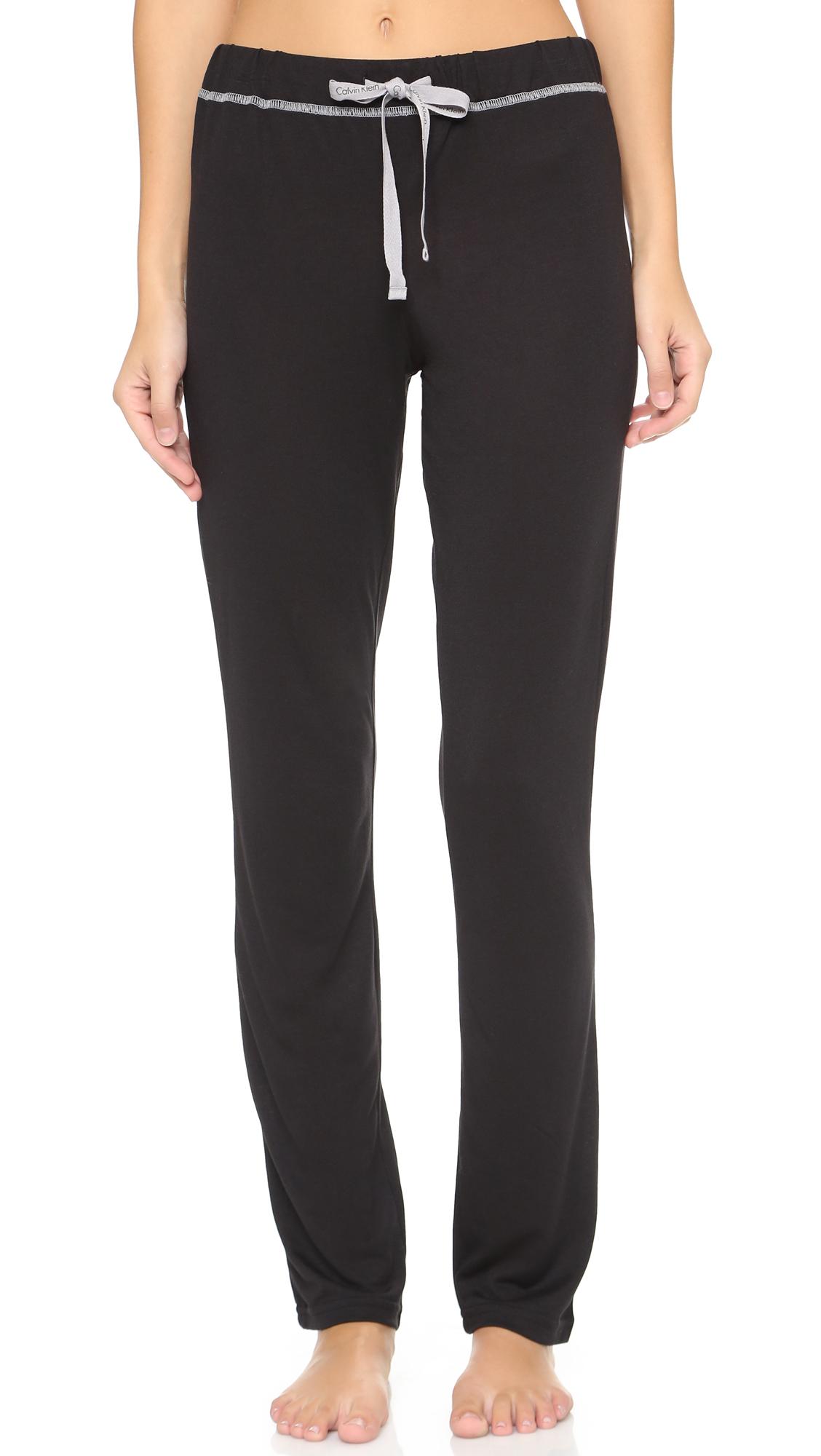 detailing united kingdom purchase cheap Calvin Klein Underwear Liquid Lounge Pajama Pants | SHOPBOP
