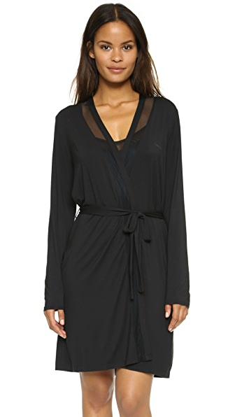 Calvin Klein Underwear Ethereal Tailored Robe