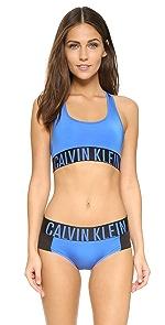 Intense Power Racer Back Bralette                Calvin Klein Underwear