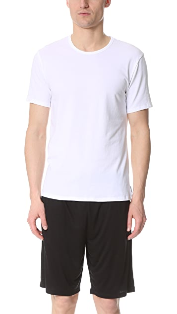 Calvin Klein Underwear CK 2 Pack Modern Cotton Stretch Crew Tee