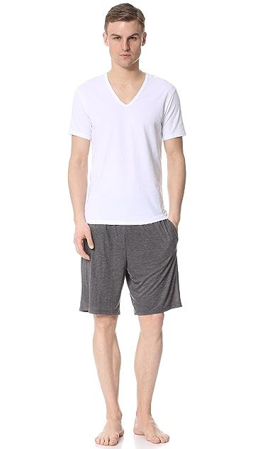 Calvin Klein Underwear Liquid Luxe Pajama Shorts