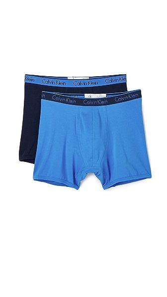 Calvin Klein Underwear CK One Cotton 2 Pack Boxer Briefs