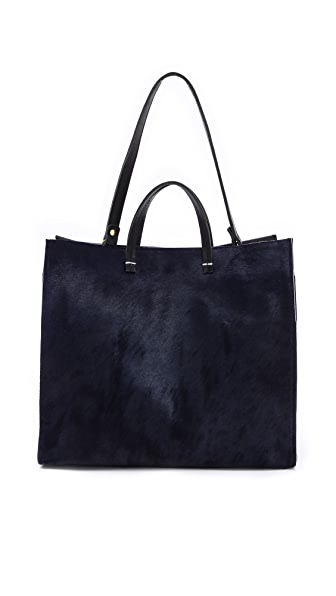 Clare V. Simple Haircalf Tote