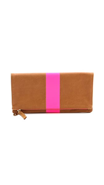 Clare V. Supreme Fold Over Clutch