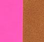 Neon Pink/Caramel