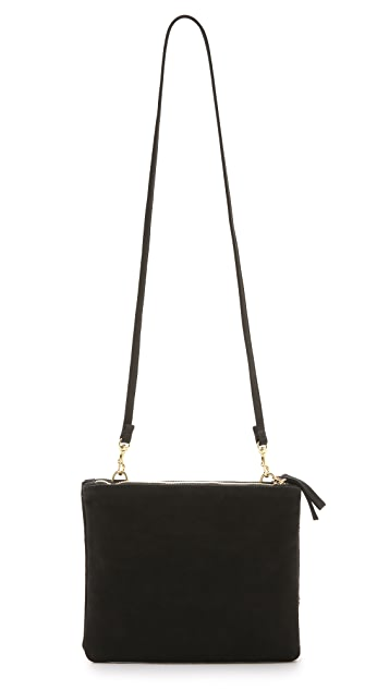 Clare V. Double Sac Bretelle Cross Body Bag