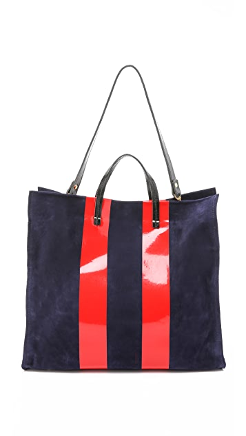 Clare V. Supreme Simple Tote