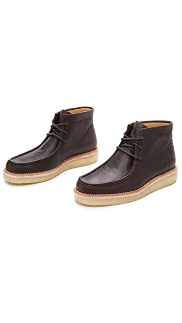 Clarks Leather Beckery Hike Boots
