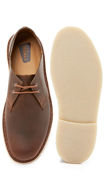 Clarks Leather Jink Shoes